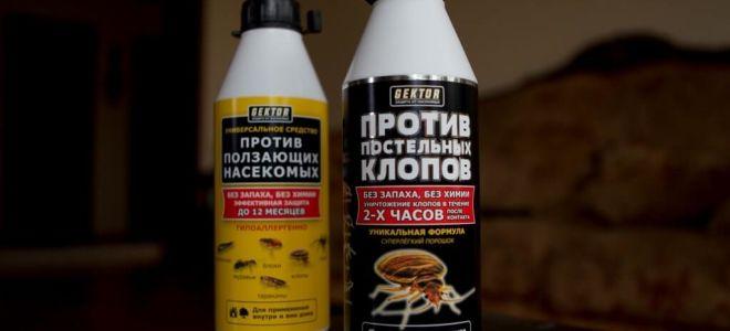 GEKTOR נגד באגים המיטה חרקים זוחלים