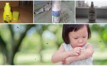 אמצעי יעיל יתושים לילדים מ 1 שנה