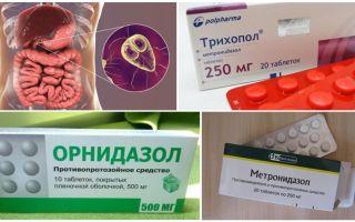 התרופות הטובות ביותר לטיפול בגיארדיה במבוגרים
