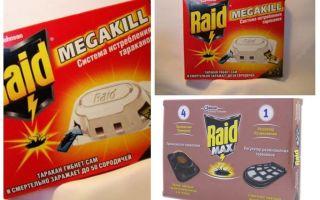 מקק Raid: מלכודות, תרסיס, ספריי