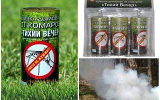 פצצת עשן ערב יתוש שקט