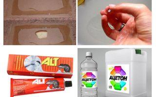 איך לשטוף את הדבק מעכברים